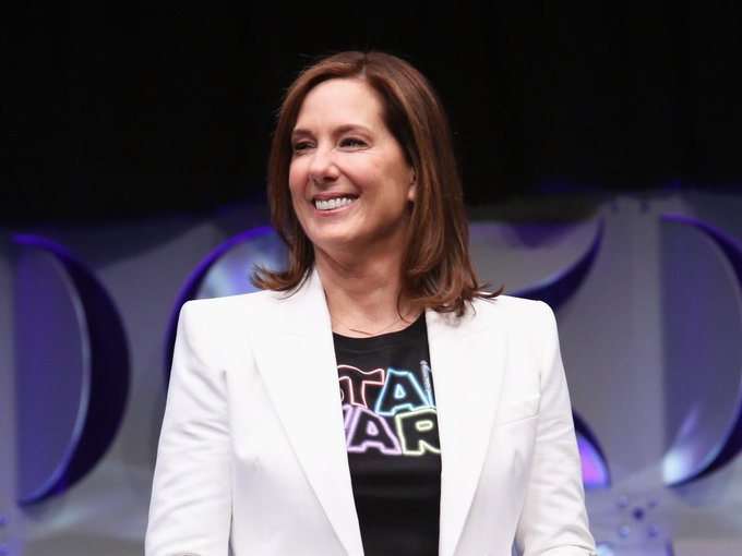 Execute Birthday 66! Happy 66th Birthday to one of the greatest movie producers of all time, Kathleen Kennedy!