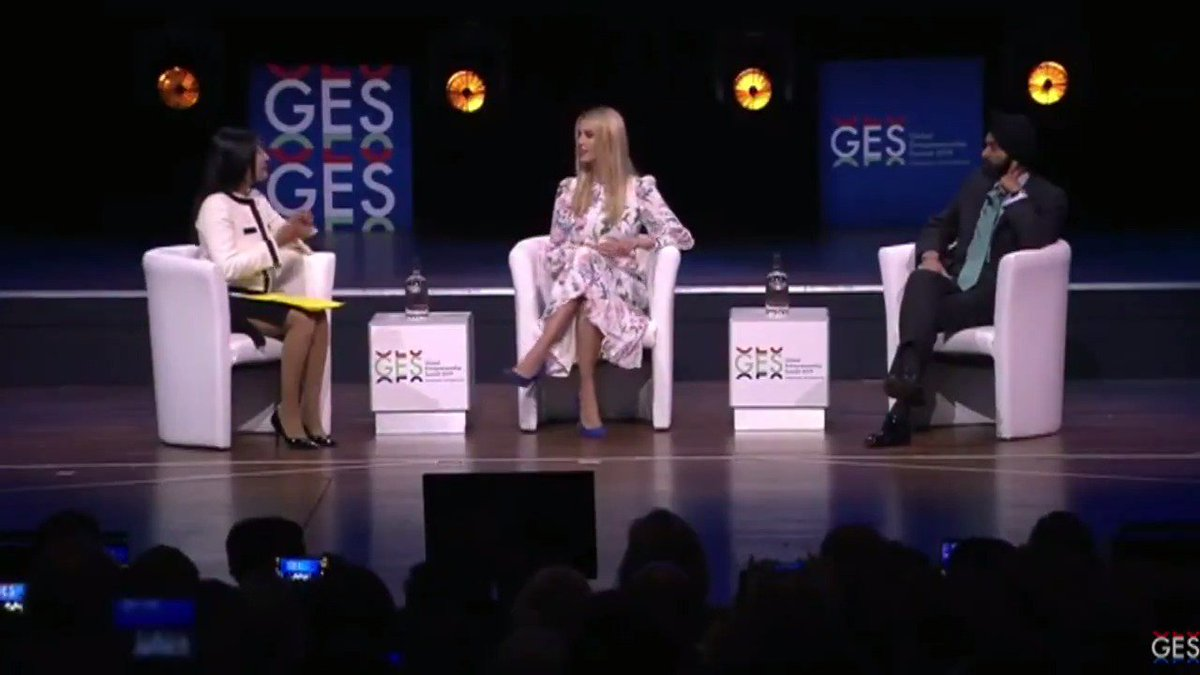 RT @thehill: EARLIER: Ivanka Trump participates in a discussion at the Global Entrepreneurship Summit at the Hague. https://t.co/Uj9PopcBCa