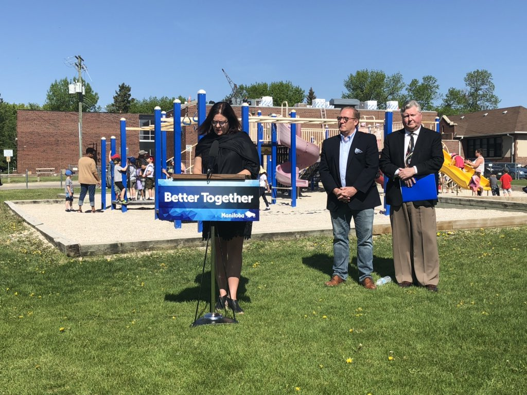 test Twitter Media - Happy to announce the construction of a new child care centre on the grounds of École Assiniboine School. The centre will increase childcare spaces and recommit our governments plan of taking care of our kids. #mbpoli https://t.co/96jb2BT5jR