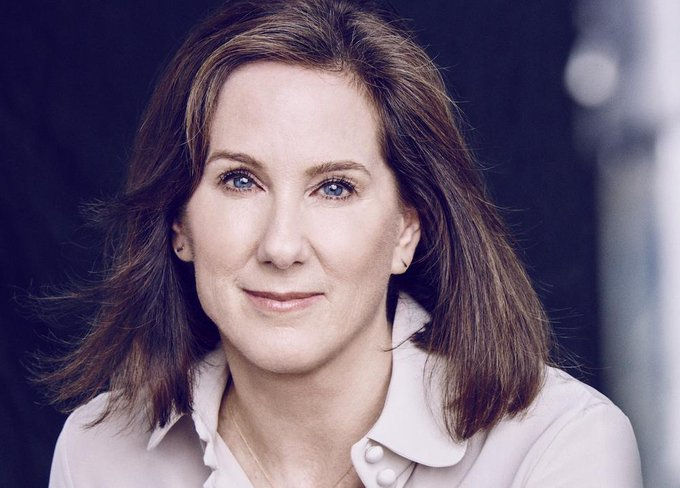 Happy birthday to Lucasfilm president Kathleen Kennedy!