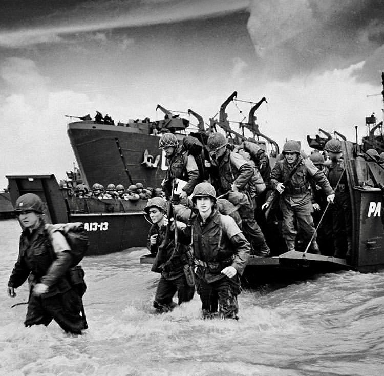 Remembering all of the brave young men who fought for our freedom 75 years ago. #DDay75thAnniversary https://t.co/vFFliKGmny
