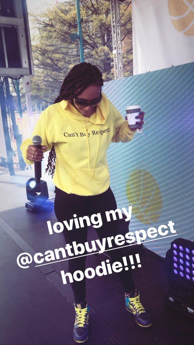 Love my @cantbuyrespect gear!!! Thank you, @ChaseNCashe!!! ????????https://t.co/zXmYYeUrCR https://t.co/iT9xUnuhQn