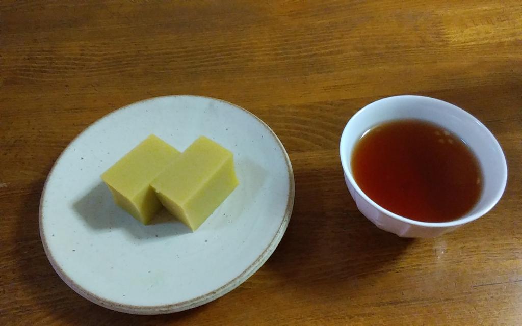 test ツイッターメディア - TGさんからいただいた宮廷普洱茶と舟和の芋ようかん。 落ち着いた香りにじんわりとした旨みのある、穏やかで飲みやすいお茶に感じました。さつまいもの甘みを生かした芋ようかんにとてもあっていて美味しかったです💗 #ほげ茶会 https://t.co/30zOTDpzNb