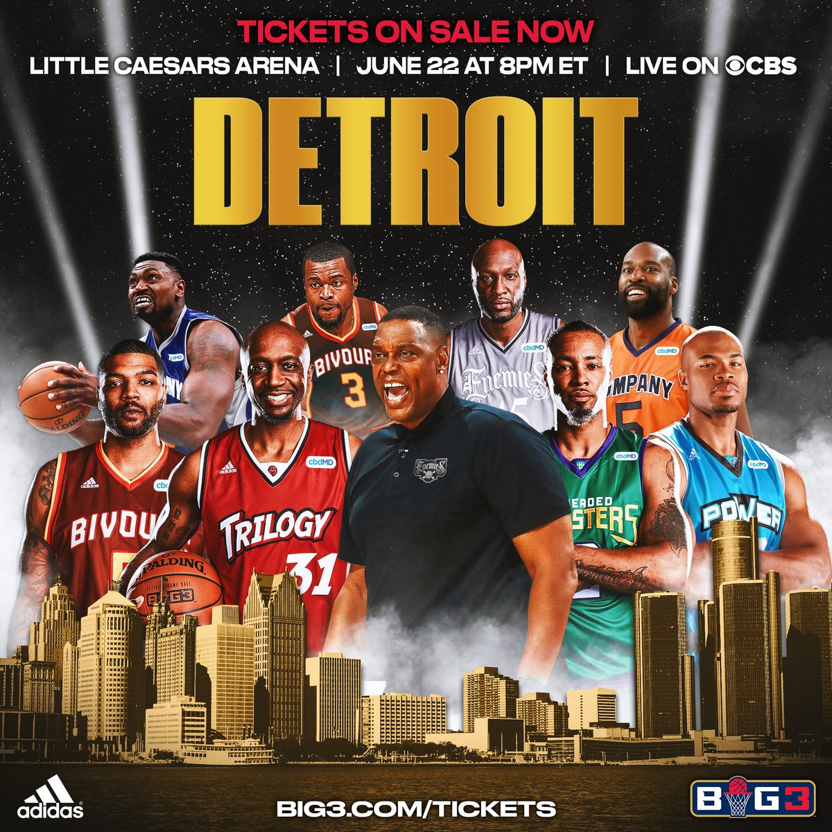 RT @ReggieEvans30: @thebig3 June 22 #Detroit ???????????? #TheGrindIsReal https://t.co/OuzbpIAtRP