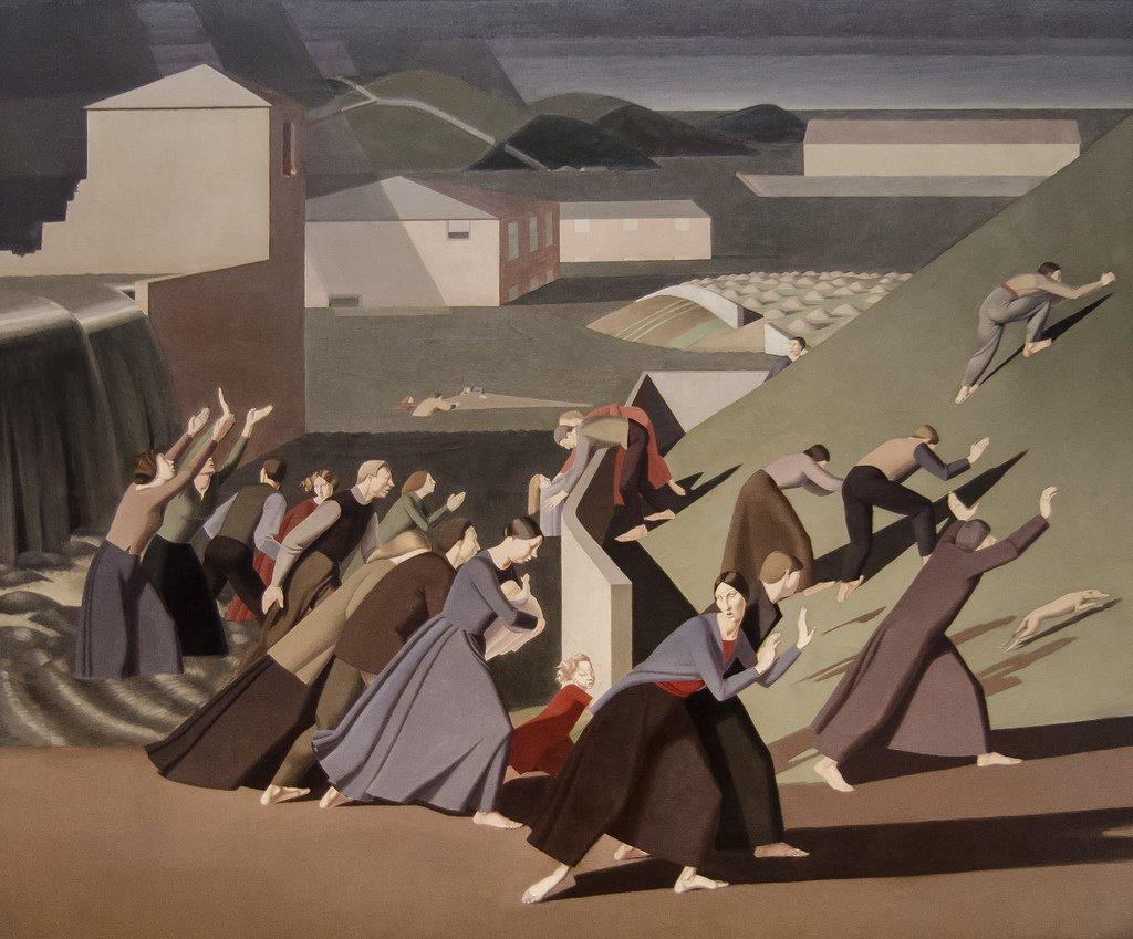 RT @womensart1: The Deluge (1919) by British painter Winifred Knights #womensart https://t.co/S6q04rwm3Q