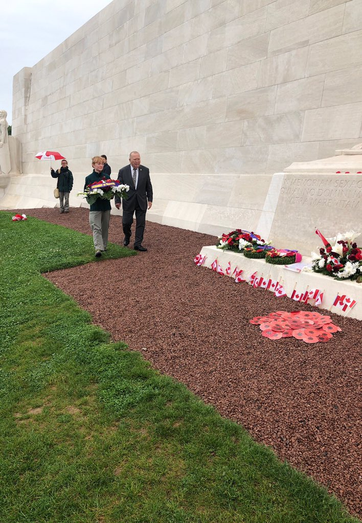 test Twitter Media - Honoured to commemorate the First World War battle of Vimy Ridge with my colleagues Minister Eichler and Special Envoy for Military Affairs Jon Reyes on Wednesday. Let us never forget the sacrifices of those who served for the freedom and security we enjoy today. https://t.co/GIAesButja