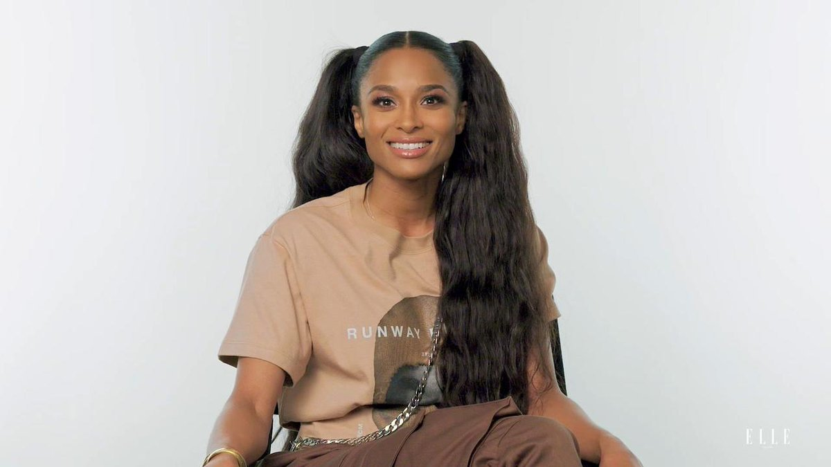RT @ELLEmagazine: Ciara Sings Alicia Keys, Michael Jackson and Whitney Houston in a Game of Song Association https://t.co/cn72KpvFVX