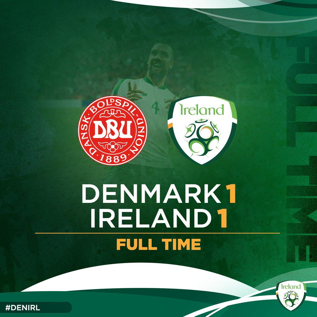 Thomas Delaney's 'most annoying opponent' earn a hard fought draw in Copenhagen 💪🇮🇪👏 #DENIRL #COYBIG https://t.co/iSyF2AgzEn