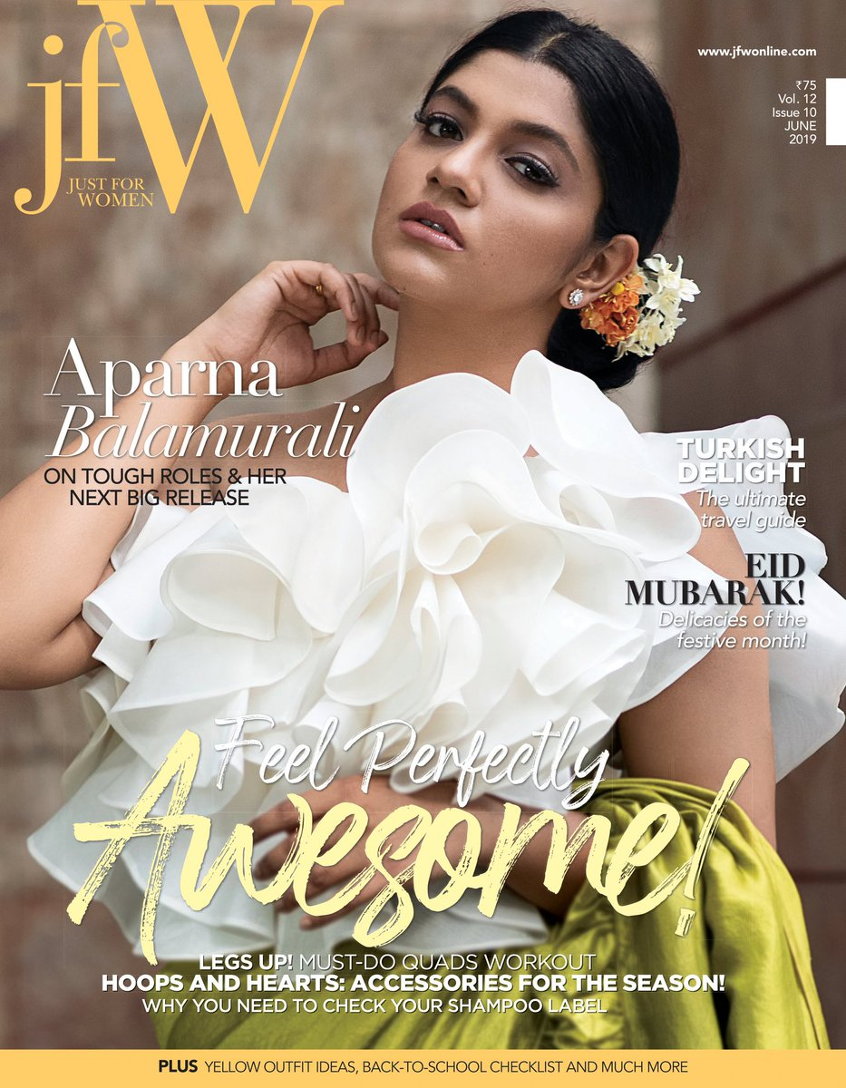 Thankyou @jfwmagofficial for this making this amazing photoshoot happen!!  Also this bunch of beautiful people who made me look my best!  PC: @waranyogesh  Styled by my favourite @PoornimaRamasw1 ❤ Costume : Magnoliaa by Vaani Raghupathy MUA : @samanthajagan   ❤❤❤