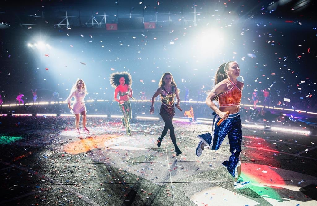 RT @spicegirls: Headed to show eight like... ARE YOU READY Edinburgh?! #spiceworld2019  ???? @Timmsy17 https://t.co/Um5yoDyJ9z