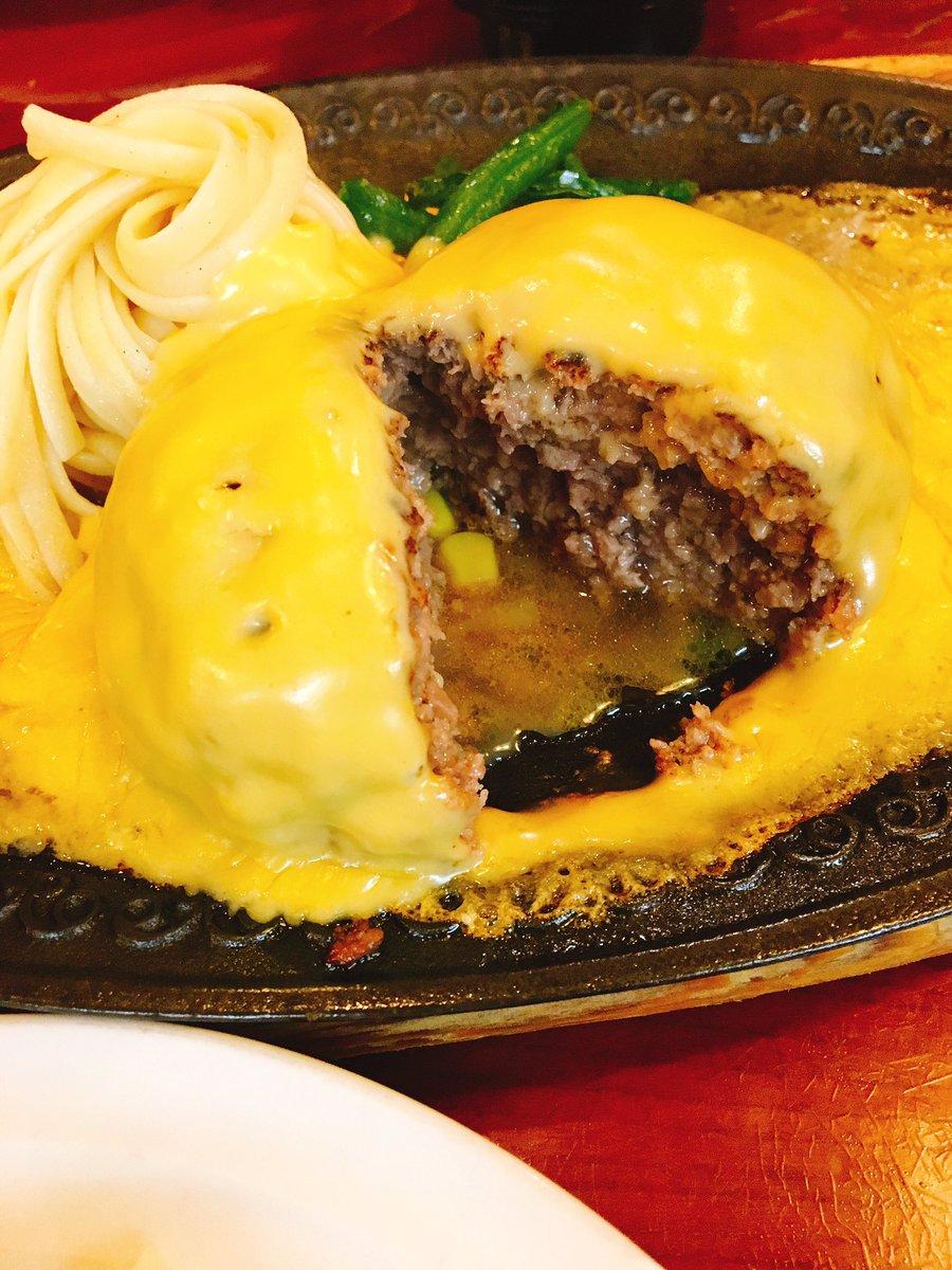 test ツイッターメディア - 今日のお昼はここ! 浅草で有名な鉄板焼きハンバーグのお店、モンブラン✨ ハンバーグは滅多に食べないんだけど、ここのは美味しい😋 パスタにチーズソースを絡めたら何とも言えない😆 ちなみにこれはオランダ風。 https://t.co/ntCFsgaVDn