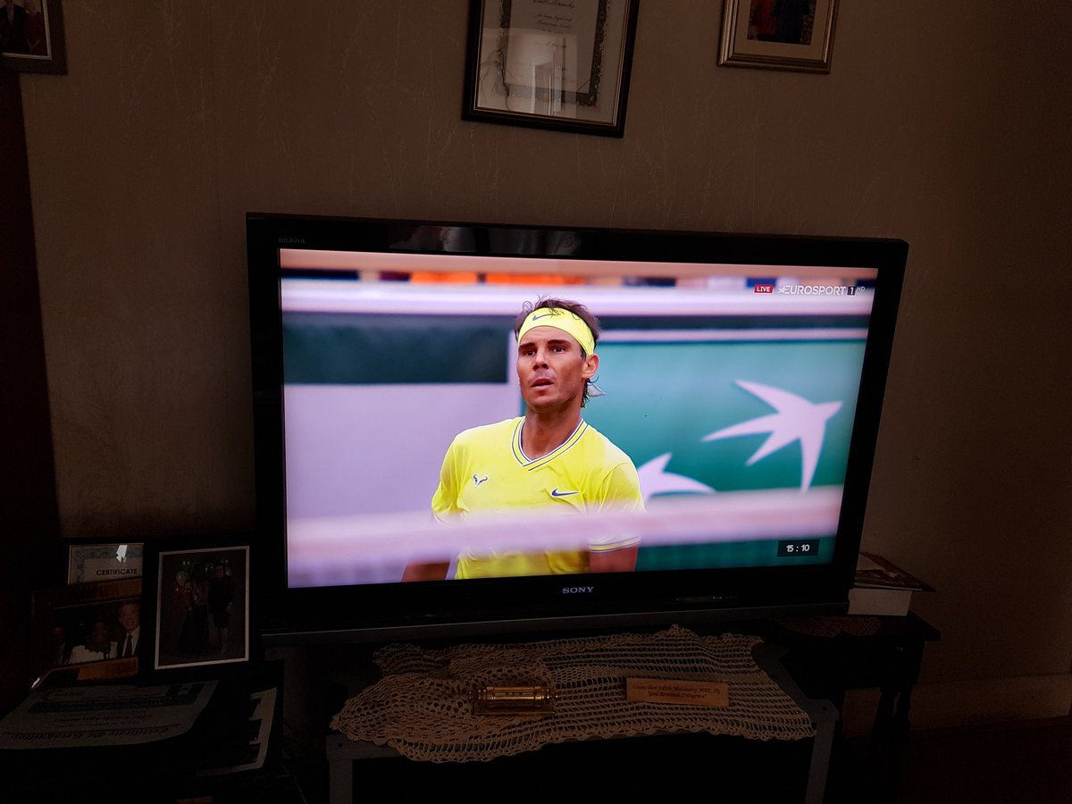 Very exciting final match. Come on Rafa. This is fantastic tennis. Game, set, match. @RafaelNadal https://t.co/s9oQ0v03di