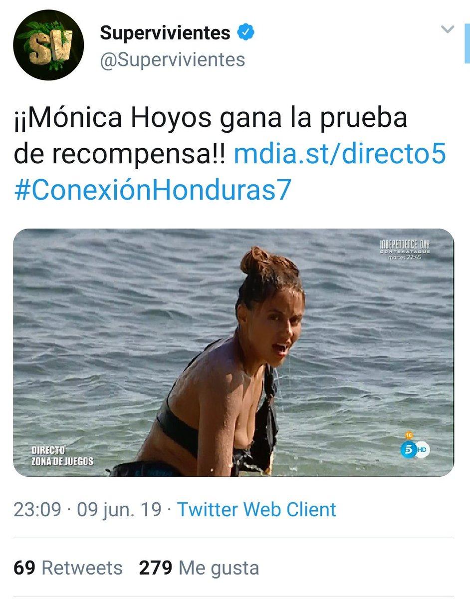 Ojo al número de likes, que podemos vivir un fuerte sorpasso con Mónica   #ConexiónHonduras7 https://t.co/UpyZuVpJA5