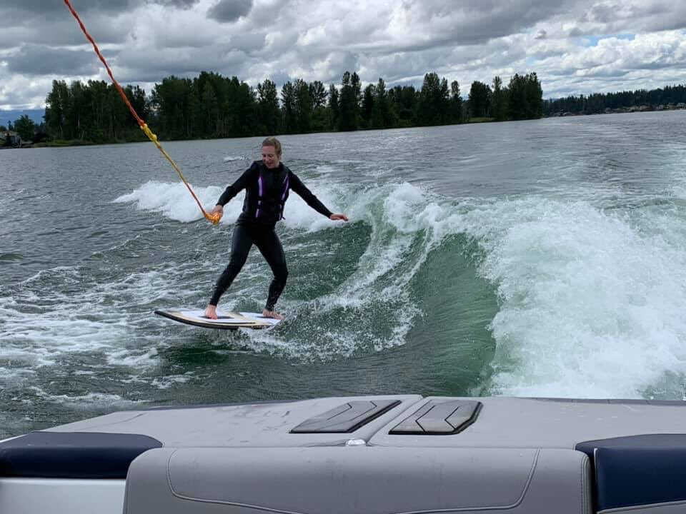 test Twitter Media - Daughter Linnea wake boarding 34 weeks pregnant. What an athlete! https://t.co/wy8B90qbXx