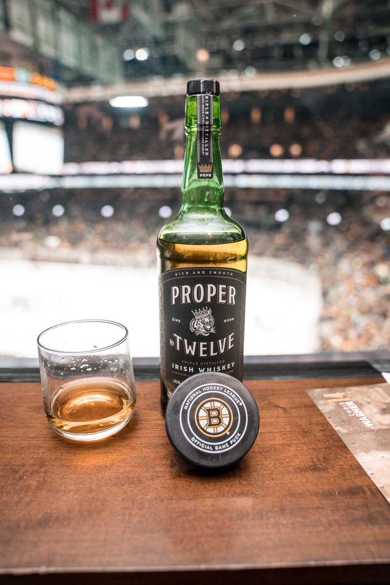 Rocket juice ???? @ProperWhiskey @NHLBruins https://t.co/oMrXzHixVY