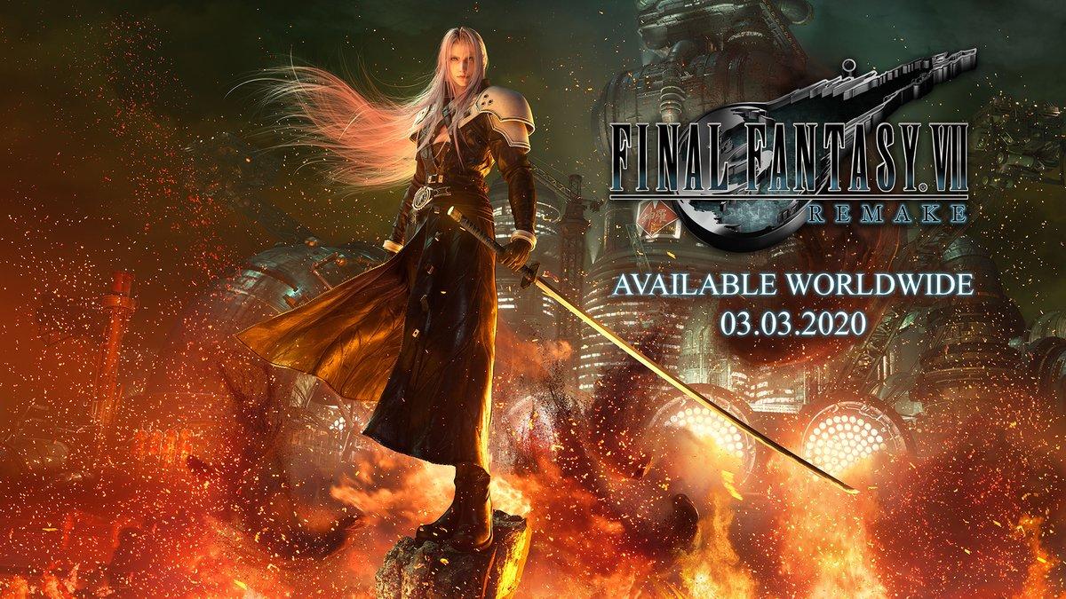 This new Key Art for Sephiroth looks stunning... can't wait! #FF7remake #e32019 https://t.co/nGONeD8rvr