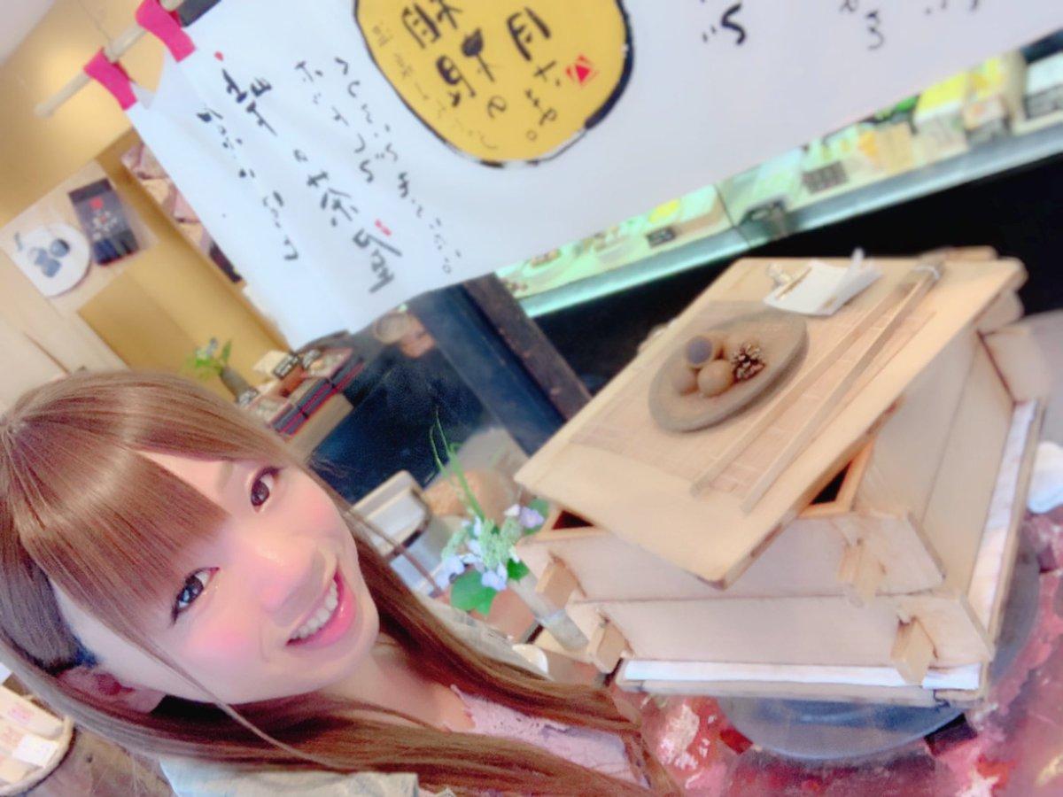 test ツイッターメディア - 箱根ご飯( ˙༥˙ )🍽 自然薯美味しかったぁ😁  夜食に焼きモンブラン買ったぁ🍰☺️  #はつ花 https://t.co/tuRsLYCMmw