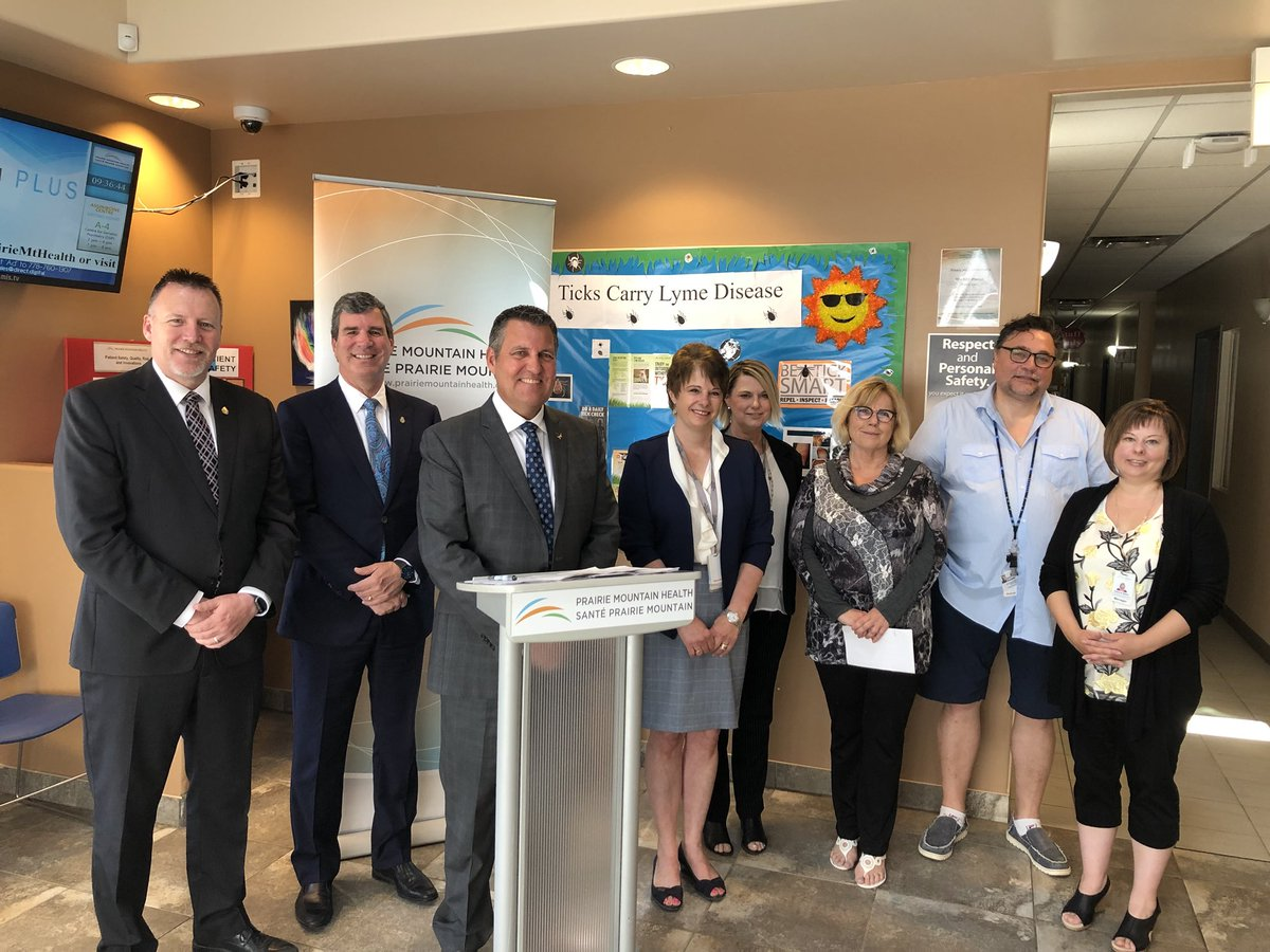 test Twitter Media - Our government is providing better health care, sooner. Proud to join @LenIsleifson and @reghelwer to announce expanded hours for the Brandon RAAM Clinic. Our $260,000 investment will expand hours on Monday so that patients can be referred from hospitals over the weekend. #mbpoli https://t.co/eZCBPLlGvg