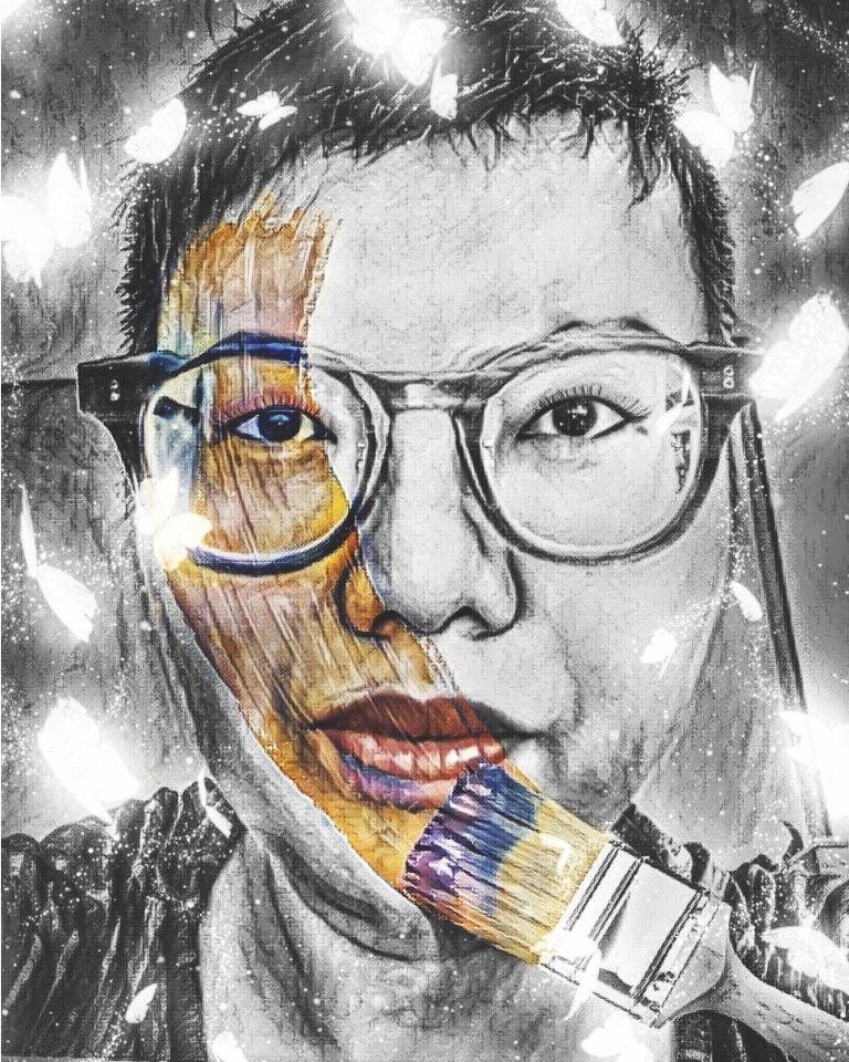 RT @HITRECORD: Self portrait titled