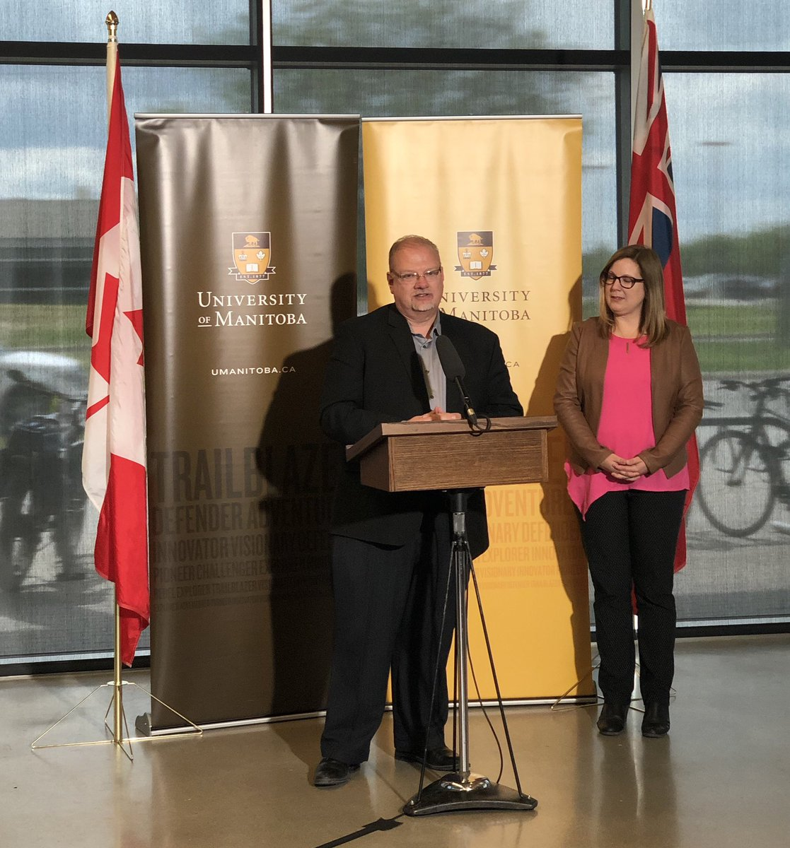 test Twitter Media - At the University of Manitoba this afternoon with @SGuillemardMLA to announce $2.5 million of funding for the Leadership Institute to help train the future leaders of our province. #MBPoli https://t.co/vKtzVJ0Grk