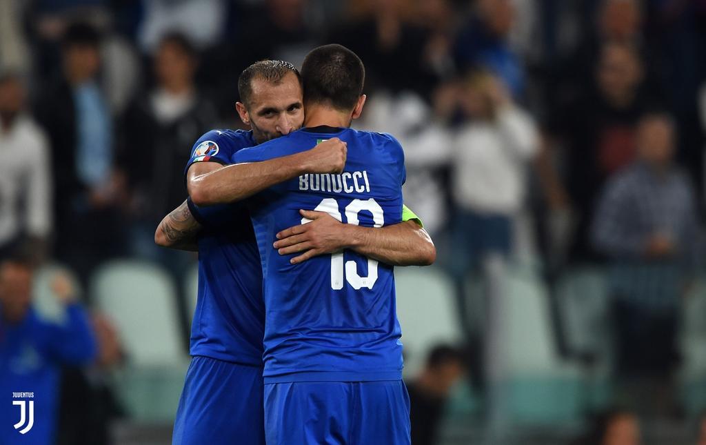 Gli Azzurri all'Allianz Stadium 🙌😍🏟 @Vivo_Azzurro   #ItaliaBosnia https://t.co/Nu9ELJlUfx