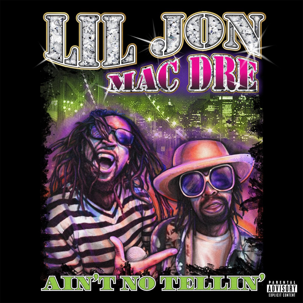 "TUNE INTO @bigvon @106KMEL TODY FOR THE EXCLUSIVE WORLD PREMIERE OF ""AIN'T NO TELLIN'"" LIL JON x MAC DRE #YEAHHHH https://t.co/QlvjaDTYCP"
