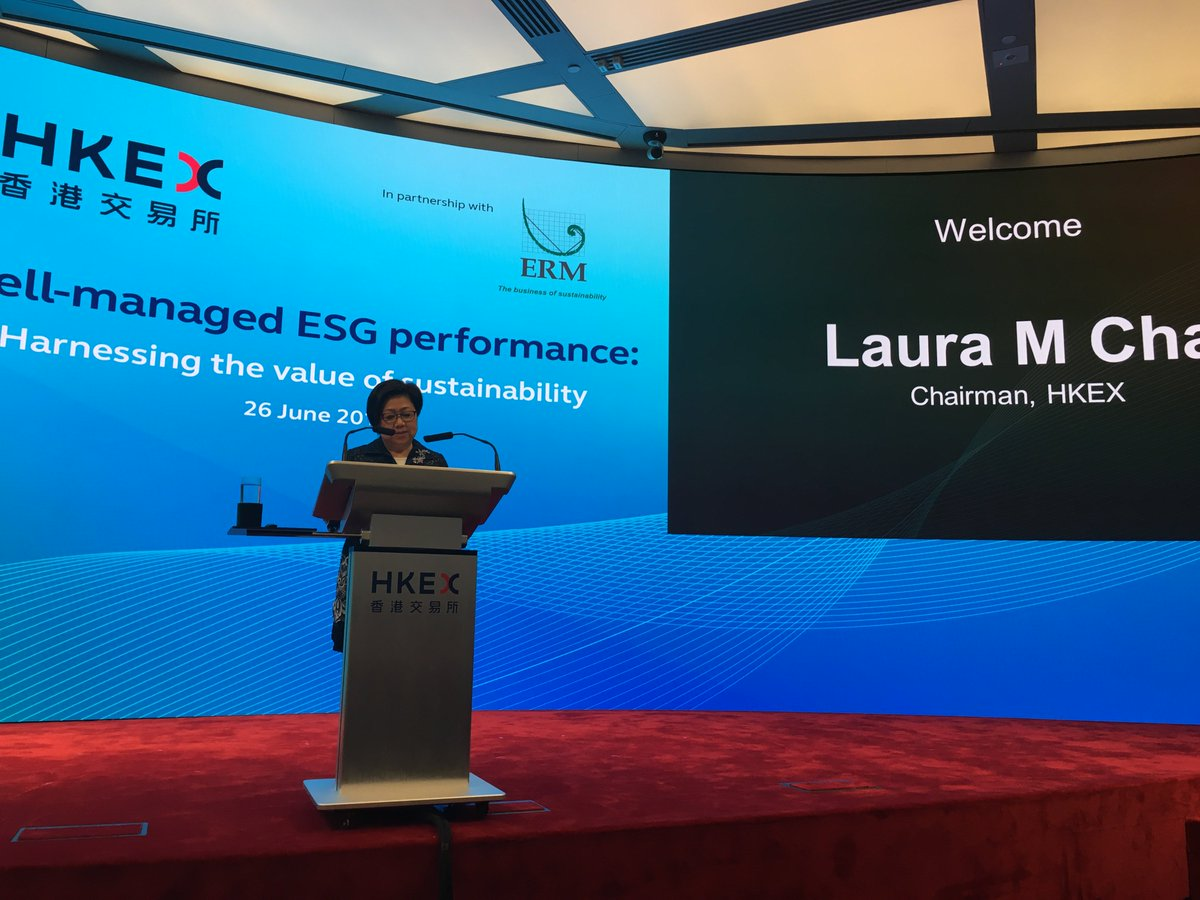 RT @M_A_Wallace: .@HKEXGroup & @erminsight kick off #ESG #sustainability discussion to a packed room at the Exchange https://t.co/lNGYRZfVTk
