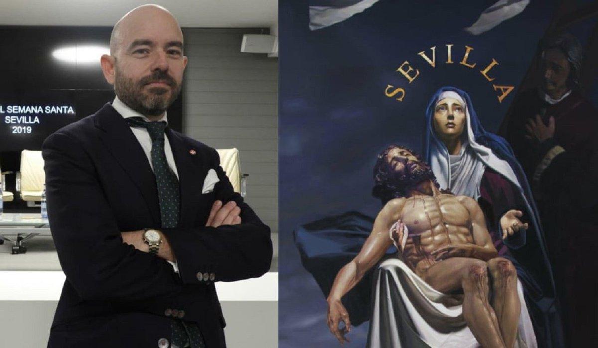 Fernando Vaquero será el cartelista de la próxima Semana Santa https://t.co/nzb4ocSsOw https://t.co/H9ZzGb3pda