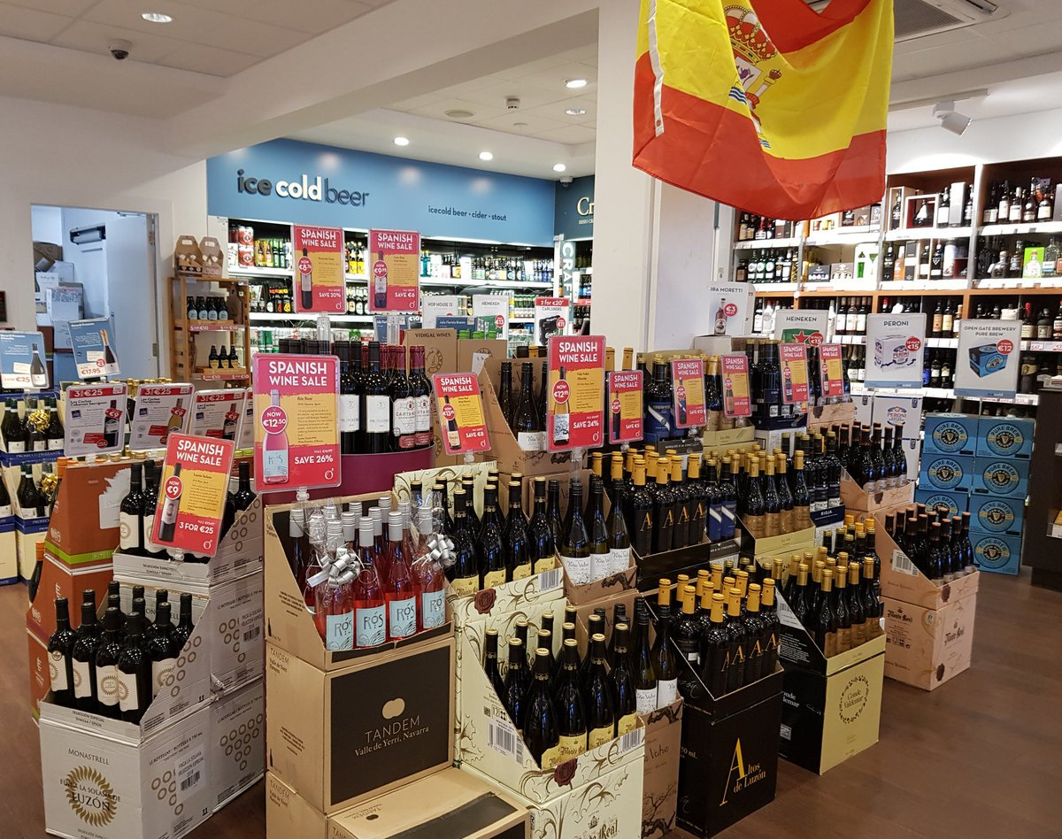 Whichever way you look at it ... it's all about Spain #SpanishWineSale  starts today (^Galway) https://t.co/M4n9L6RpDK