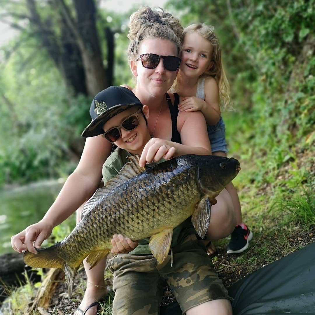 Weekend family time #carpcrazyfamily #carp<b>Fish</b>ing #vasswaders #snapback #weekendvibes https:/