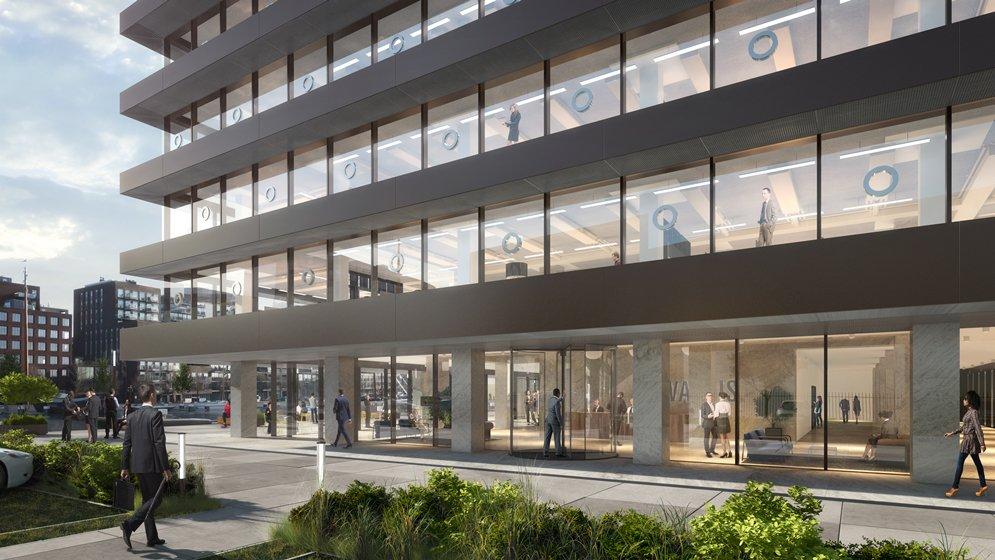 test Twitter Media - Ingrijpende verbouwing van De Walvis naar ontwerp van KAAN: Het kantoorgebouw 'De Walvis' aan de Grote Bickerstraat in Amsterdam ondergaat een renovatie naar ontwerp van KAAN Architecten. https://t.co/lXguCTrkiv https://t.co/B75xgXJ5jQ