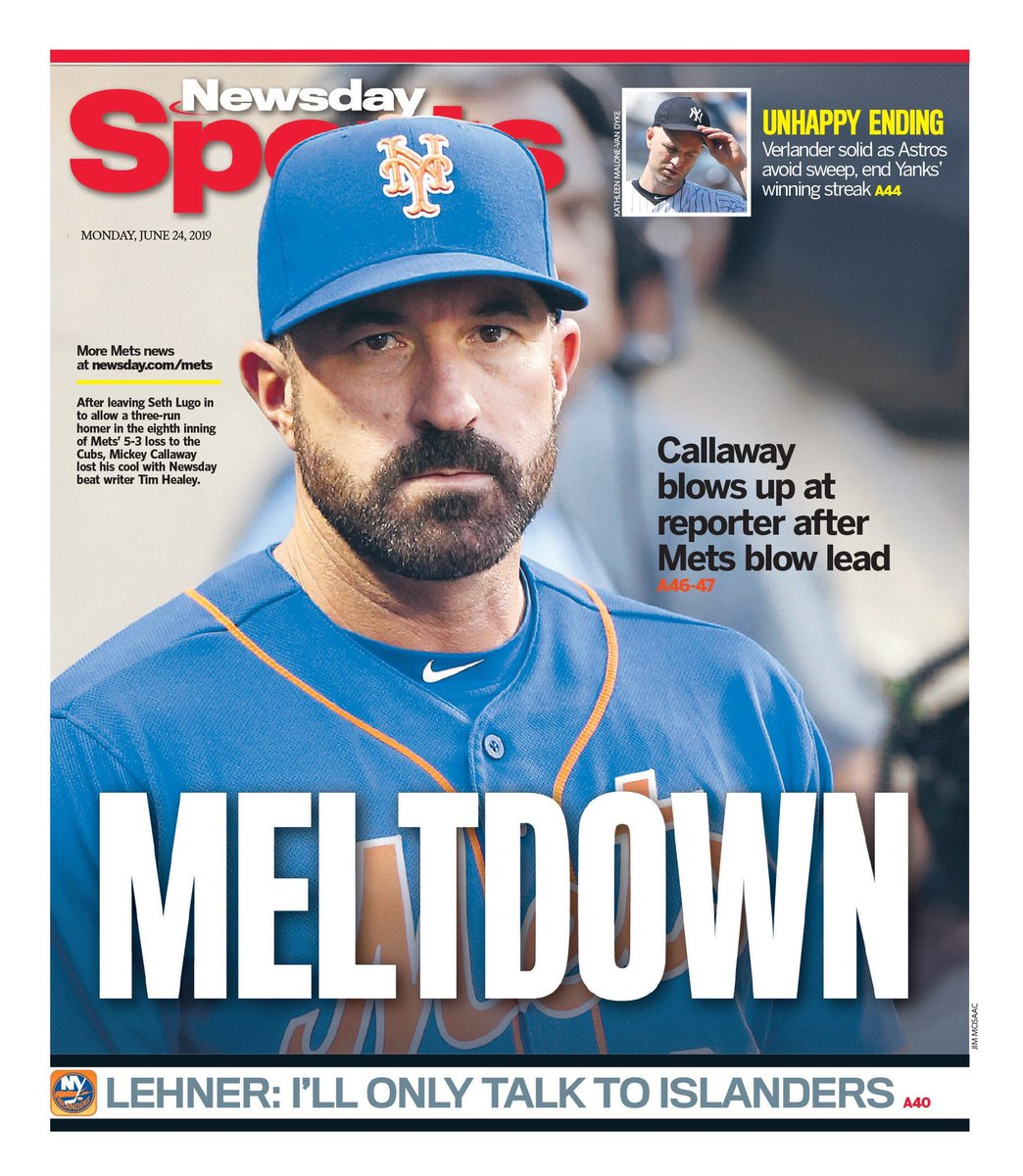test Twitter Media - Mets backpages for today..🙄 @NYDNSports @nypostsports @NewsdaySports https://t.co/kFMFiuG6bA