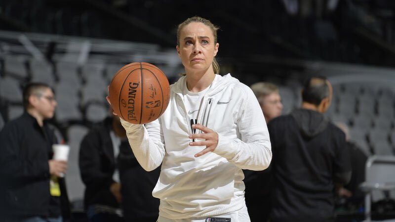 And then, Becky Hammon will take over the team when play starts in Las Vegas ... #Spurs #NBASummerLeague https://t.co/0c5SzpWesQ