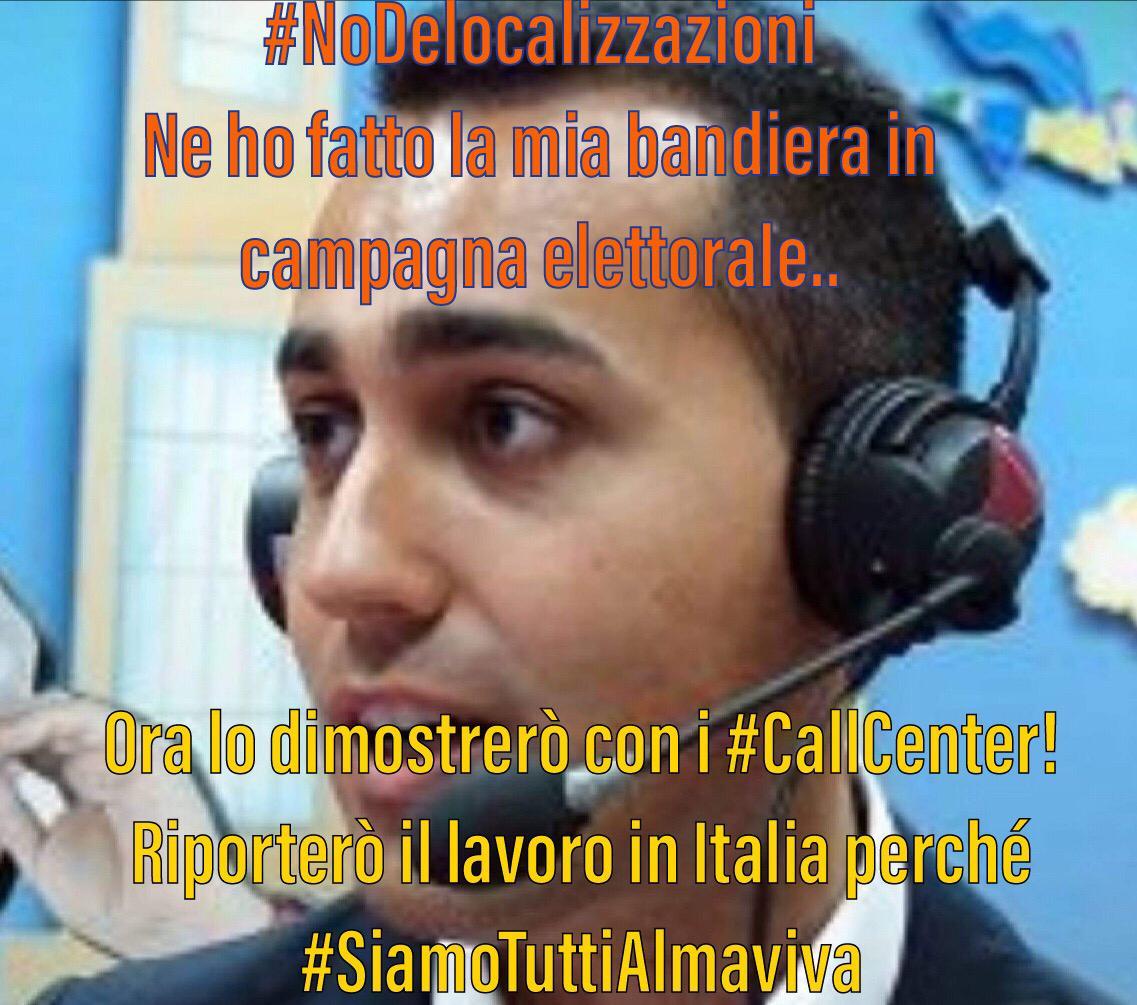 #NoDelocalizzazione