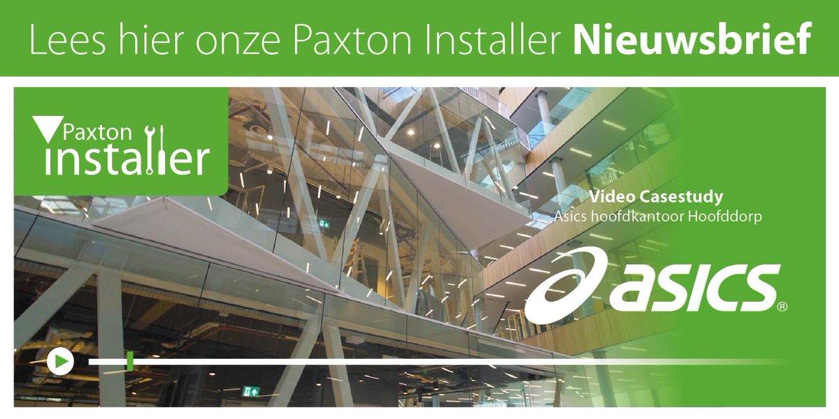 test Twitter Media - De Paxton Installer van juni is uit! Lees de Paxton Installer hier: https://t.co/Ue9tRMGRQ9  Blijft u graag op de hoogte van de laatste nieuwtjes en ontwikkelingen binnen Paxton, maar ontvangt u onze nieuwsbrief nog niet automatisch? Inschrijven kan via: https://t.co/NmoHE6YQaO https://t.co/GSQLP2lfY1