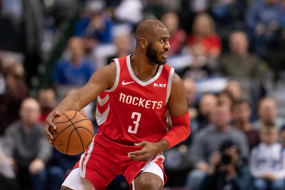test Twitter Media - Chris Paul Denied Asking For A Trade And Insists He's 'Happy' In Houston #Rockets #NBATwitter https://t.co/Lp2X2DoKxt https://t.co/dhzRB03rTn