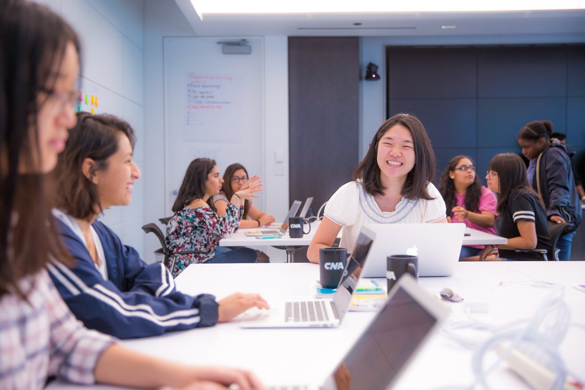They - @GirlsWhoCode - are the future. And CNA is proud to be part of it. Welcome to the 2019 class! #WeAreCNA https://t.co/qnavxF6rpQ