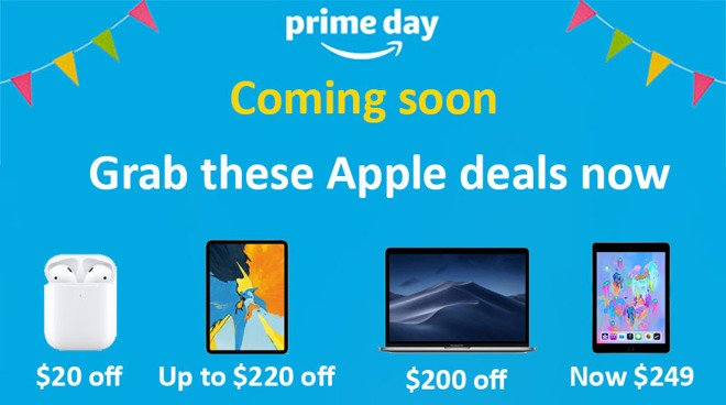 test Twitter Media - .@Amazon offers aggressive #Apple #deals ahead of #PrimeDay 2019, check out the savings today! https://t.co/9GV0gulqXG https://t.co/IjYrYGCHuv