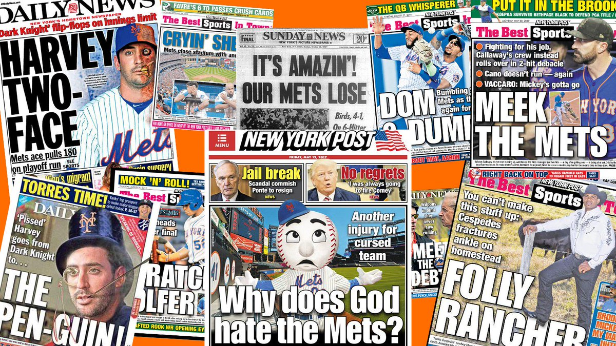 test Twitter Media - Meet the mess: The best backpages in New York Mets history https://t.co/K0N2zefmwA https://t.co/AnjHSKeTbL