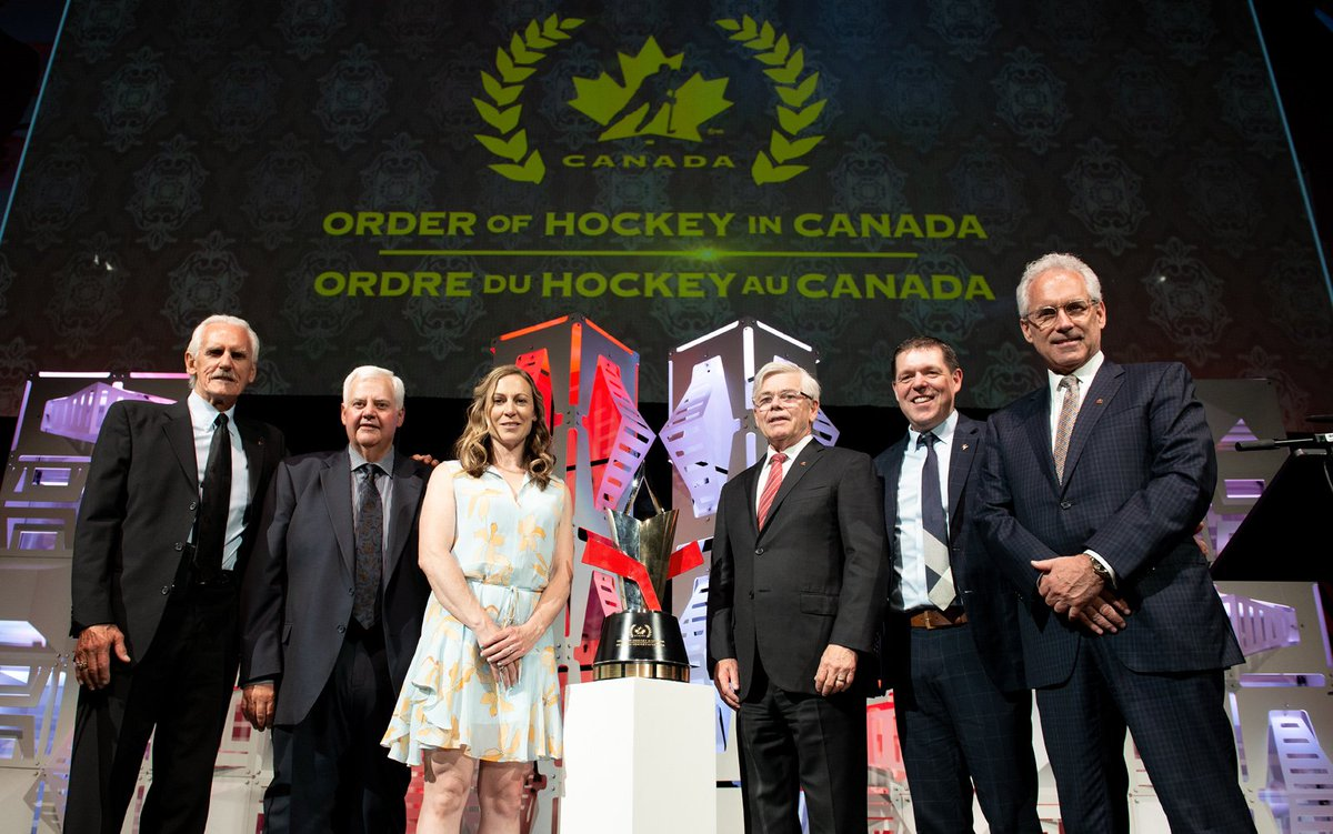 test Twitter Media - George Kingston, Ken Hitchcock, and Jayna Hefford were awarded the Order of Hockey in Canada for their outstanding contributions and service to the growth and development of hockey in our country. 🏒🇨🇦  WATCH the ceremony on @TSN_Sports tonight, 7:30 P.M. ET / 4:30 P.M. PT. https://t.co/N4xvuCSNNe
