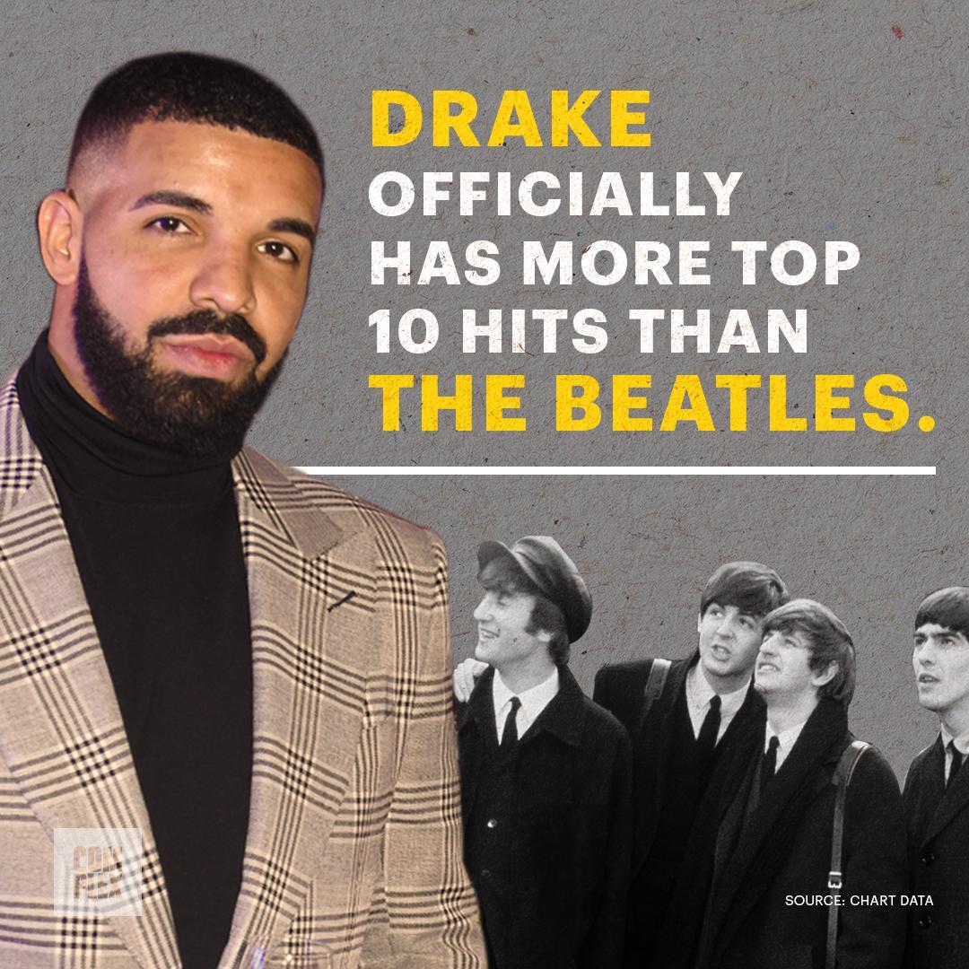 test Twitter Media - damn Drake really got more slaps than The Beatles 🤯 https://t.co/CkkJz9X2p4