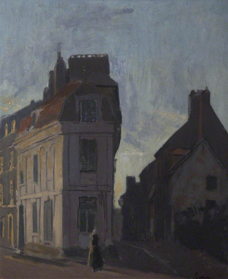 Street Scene in Dieppe   -   Walter Sickert , 1898. https://t.co/uJ8hHj9rs1