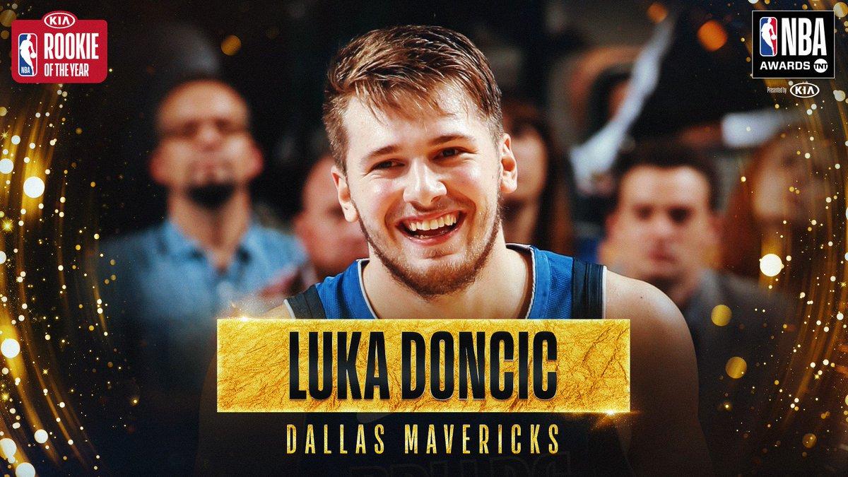RT @NBA: The 2018-19 #KiaROY is… @luka7doncic! #NBAAwards https://t.co/e7RkV3DesI