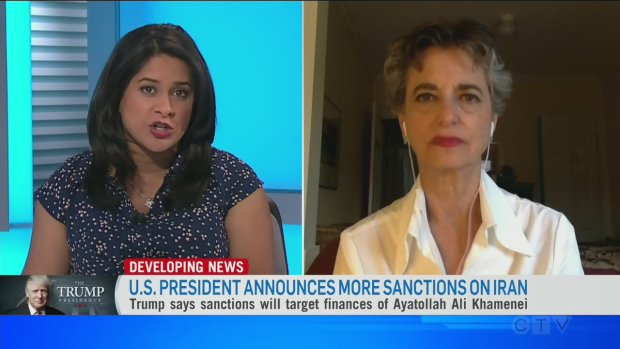Trump sanctions Iran further