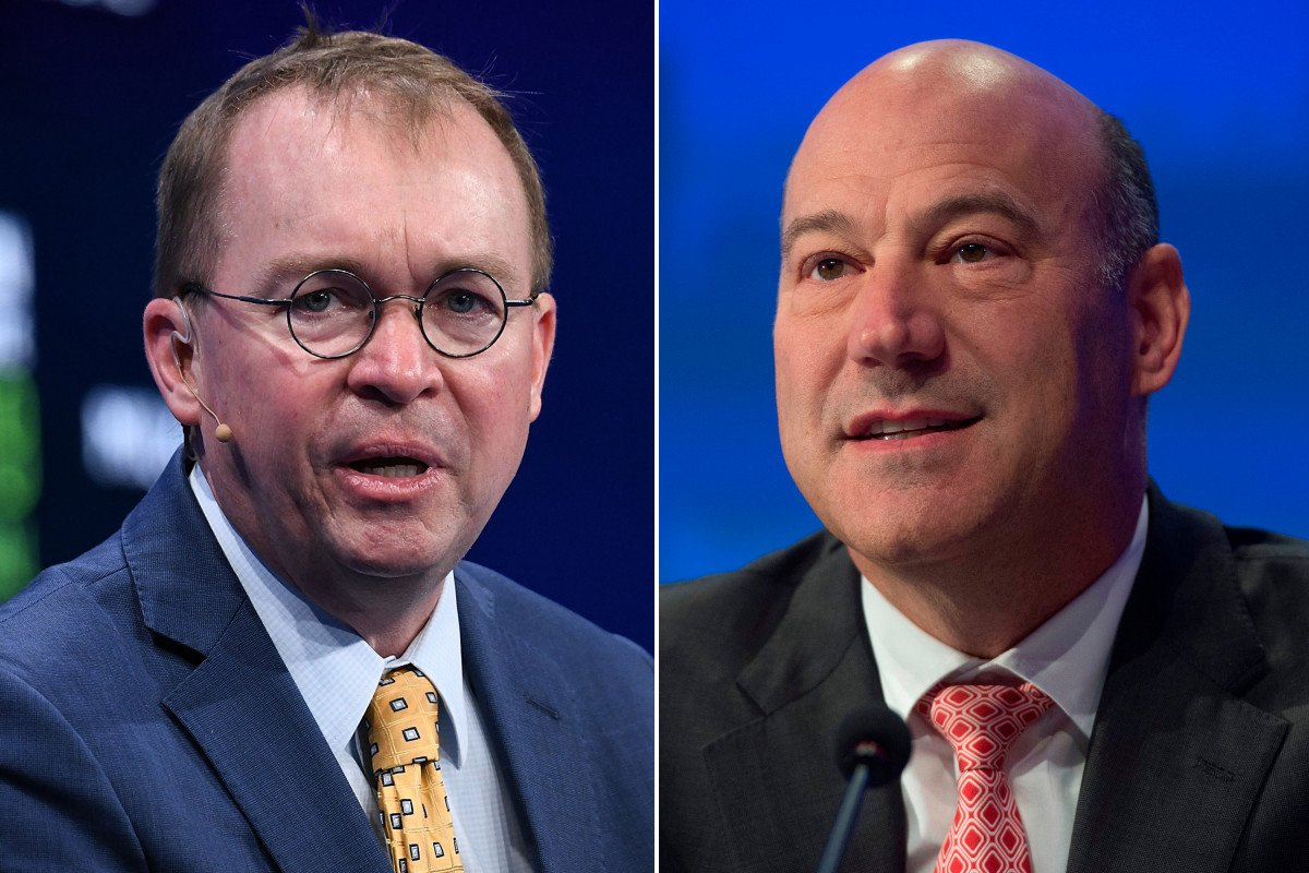 test Twitter Media - Mick Mulvaney golfs with Gary Cohn day after Trump called off Iran attack https://t.co/6h4wTBfvxT https://t.co/jYZjRWRPJk