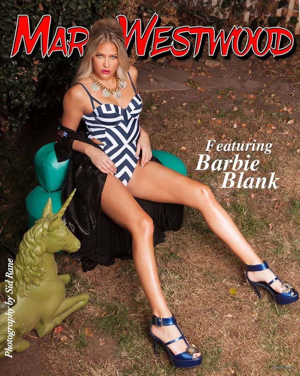 RT @BBlankdotnet: Marie Westwood Magazine featuring @TheBarbieBlank issue coming soon! ???? https://t.co/wsS2qjhtF8