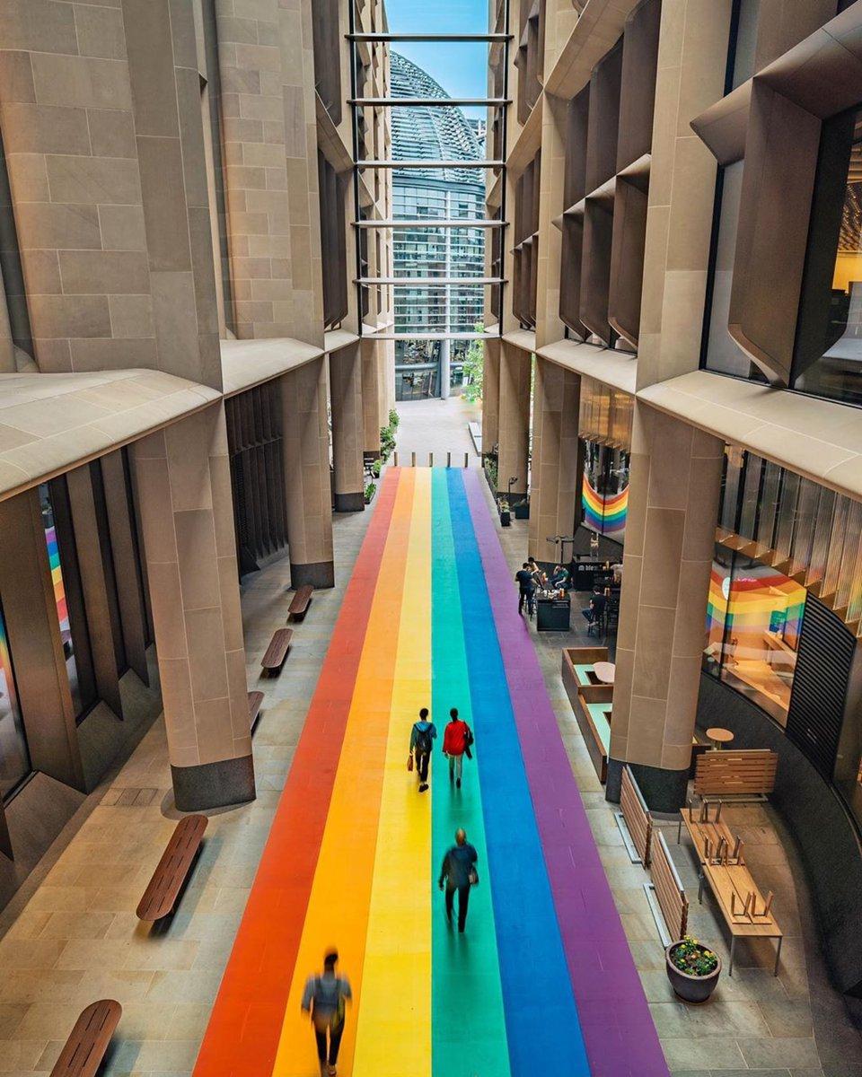 RT @PrideInLondon: How fabulous is this from  Bloomberg Arcade 🏳️🌈  #PrideinLondon #London #PrideJubilee https://t.co/JXtsAV8mKL
