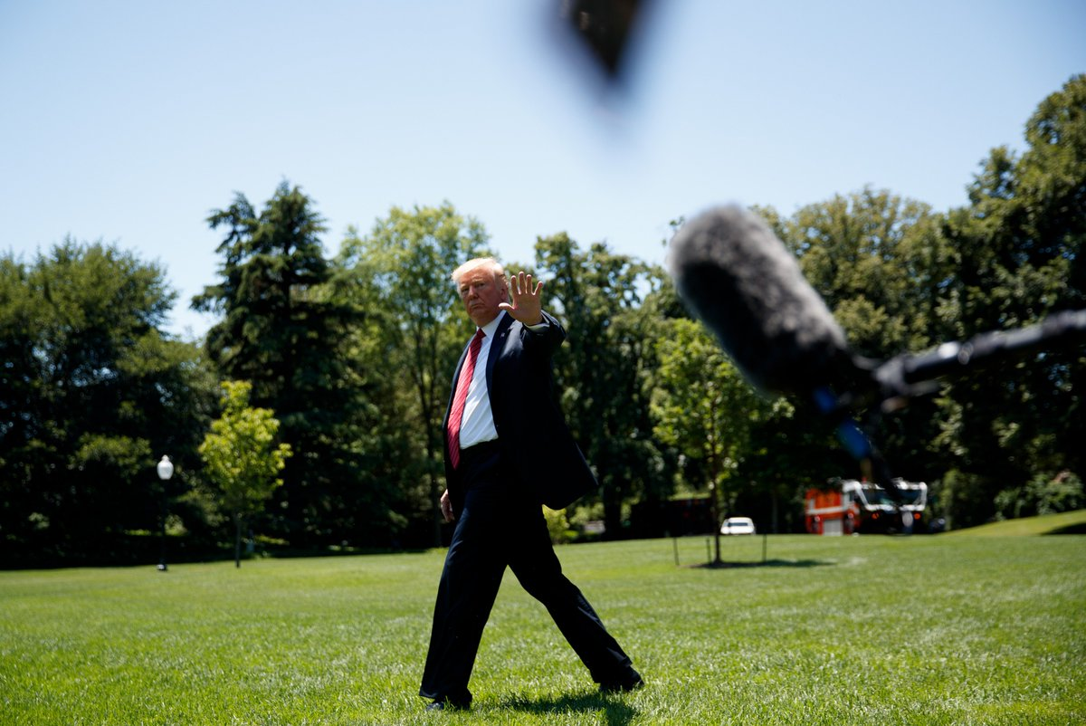 """test Twitter Media - #US President #DonaldTrump has again denied allegations that he sexually assaulted a television show host and magazine columnist, #JeanCarroll, in the 1990s, saying """"she's not my type"""".  Photo: IANS https://t.co/vpTlRLHvKI"""