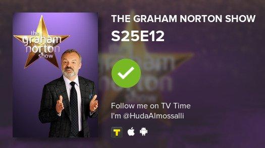 I've just watched episode S25E12 of The Graham Norto...! #grahamnortonshow  #tvtime https://t.co/4ugiyu0Wql https://t.co/25QuDWw9ZQ