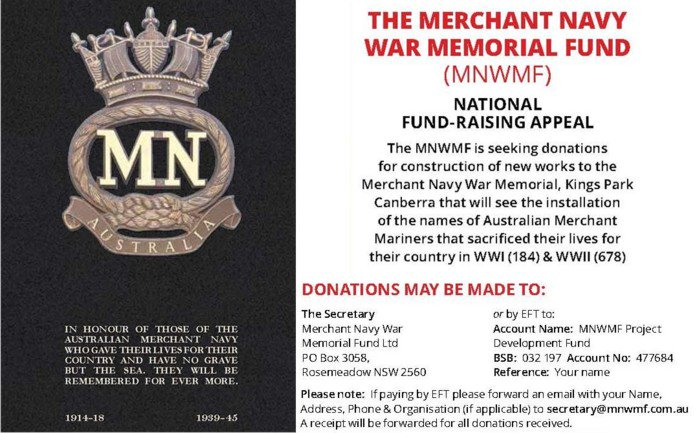 test Twitter Media - Merchant Navy War Memorial National Fundraising Appeal https://t.co/fHB8ok8f14